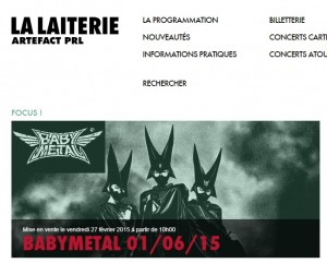 babymetal La Laiterie