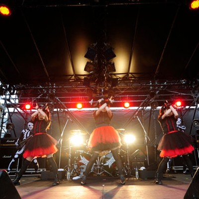 BABYMETAL METROPOLITAN ROCK 2015出演!気になる共演対バン動画と詳細!